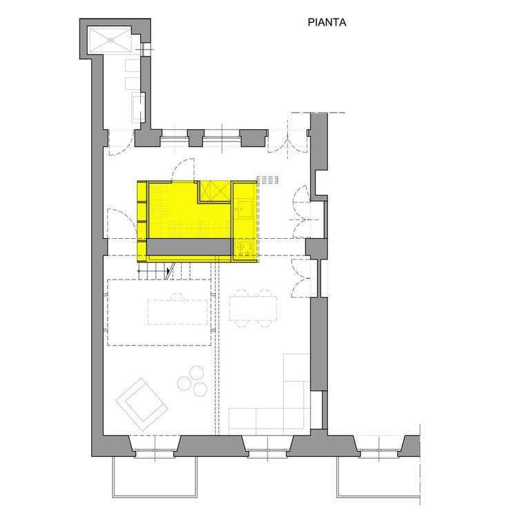 Casas de estilo moderno de studioata Moderno