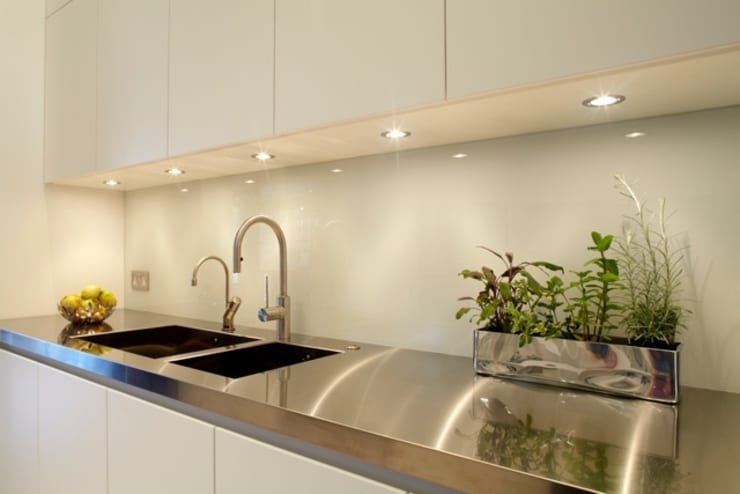 New Crane Wharf: modern Kitchen by TLA Studio