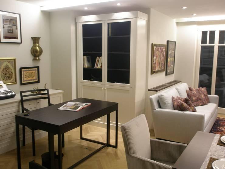書房/辦公室 by Elke Altenberger Interior Design & Consulting,