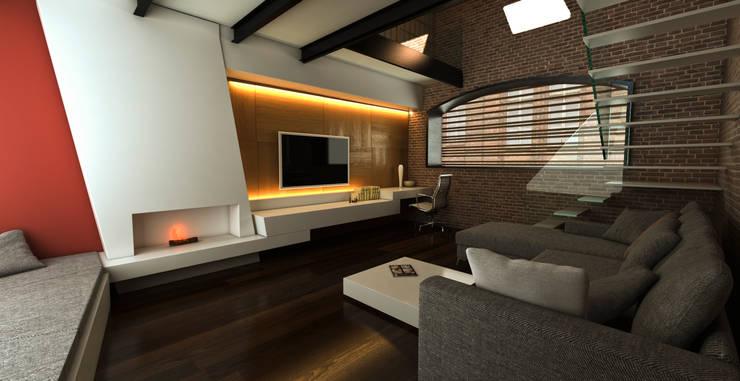 Living room by Luis Vegas, Modern