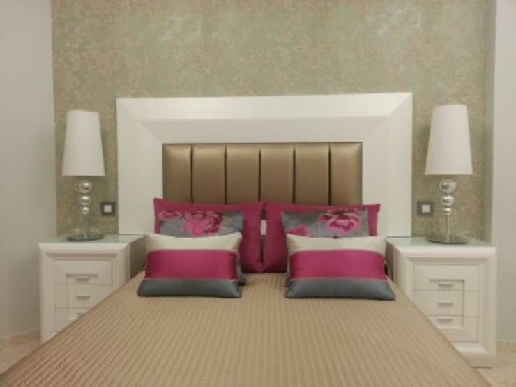 DECORACION DE VIVIENDA: Dormitorios de estilo clásico de GAZZULES DISEÑO INTERIOR
