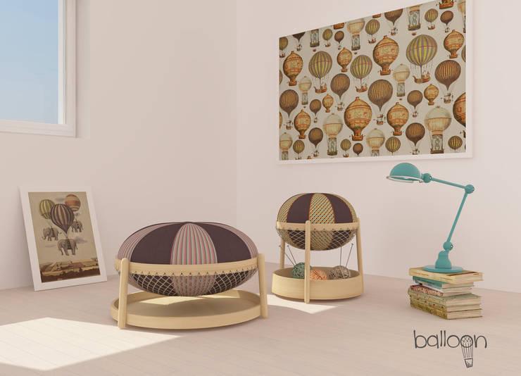 Balloon: Soggiorno in stile in stile Eclettico di Officina41 Design Group