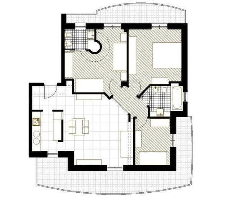 por L.A.B. - Luigi Bottalico Architetto , Eclético
