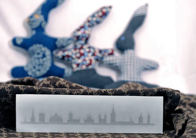 Skyline Aufkleber:   von a-ostermann,Ausgefallen