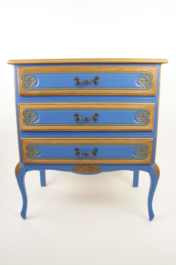 Upcycled oak chest of drawers de Narcissus Road Furniture Design Ecléctico