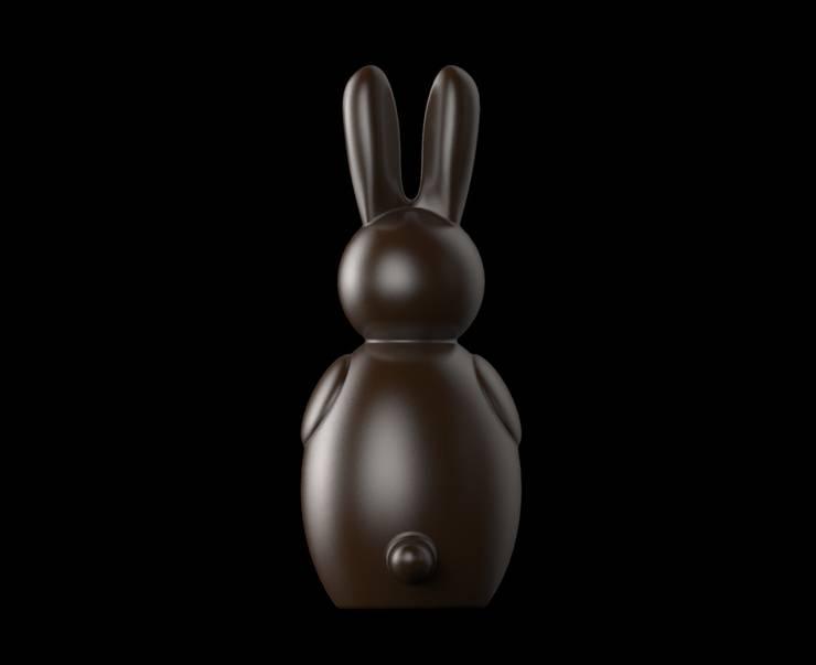 Bunny - Vista Posteriore: Cucina in stile  di Gaudenzio Ciotti - Design Studio