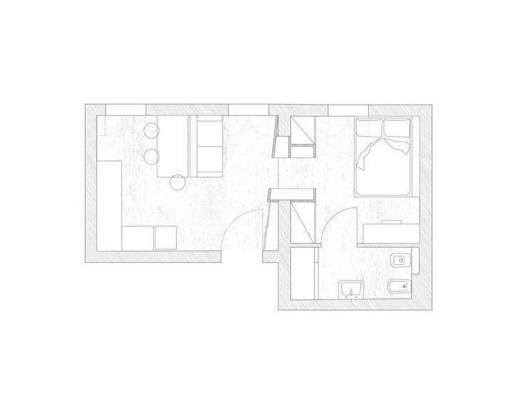 Casas de estilo  por MIROarchitetti