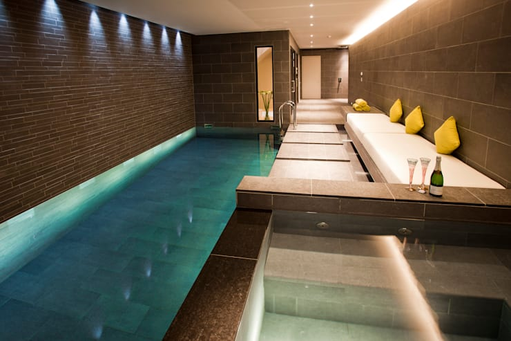 Subterranean Leisure Area :  Pool by London Swimming Pool Company