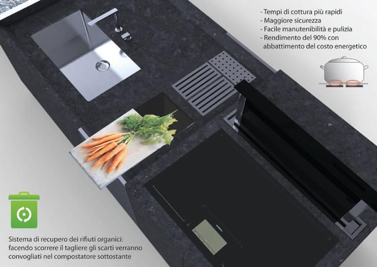 Cocina de estilo  por Gaudenzio Ciotti - Design Studio,