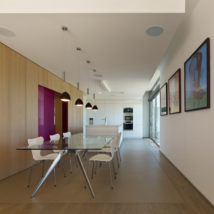 ห้องนั่งเล่น โดย Arch. Massimo Bertola, โมเดิร์น