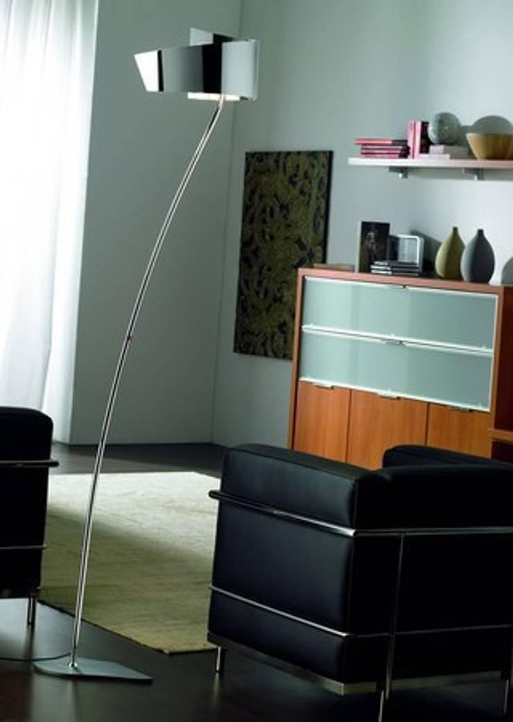Salas de estilo  por Pujol Iluminacion,