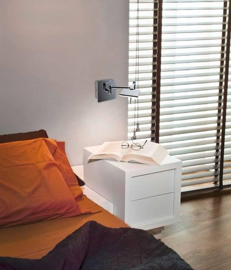 DEL REF.A-34: Dormitorios de estilo  de Pujol Iluminacion
