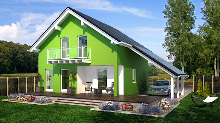 modern  by Bau mein Haus - eine Marke der Green Building Deutschland GmbH, Modern
