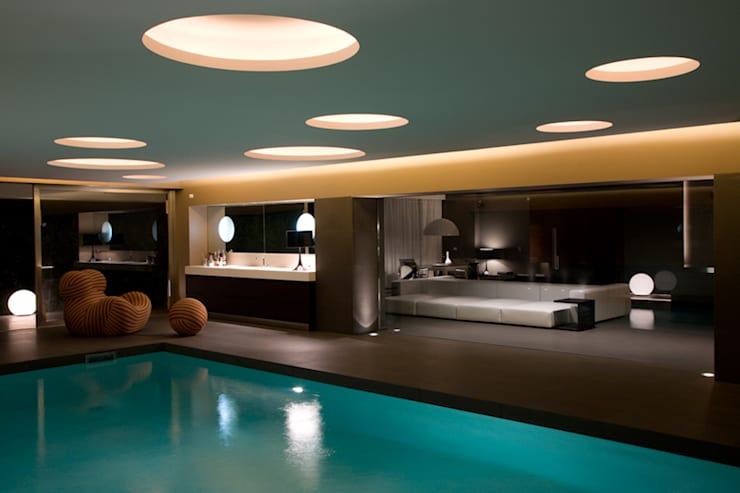 mediterranean Spa by Cannata&Partners Lighting Design