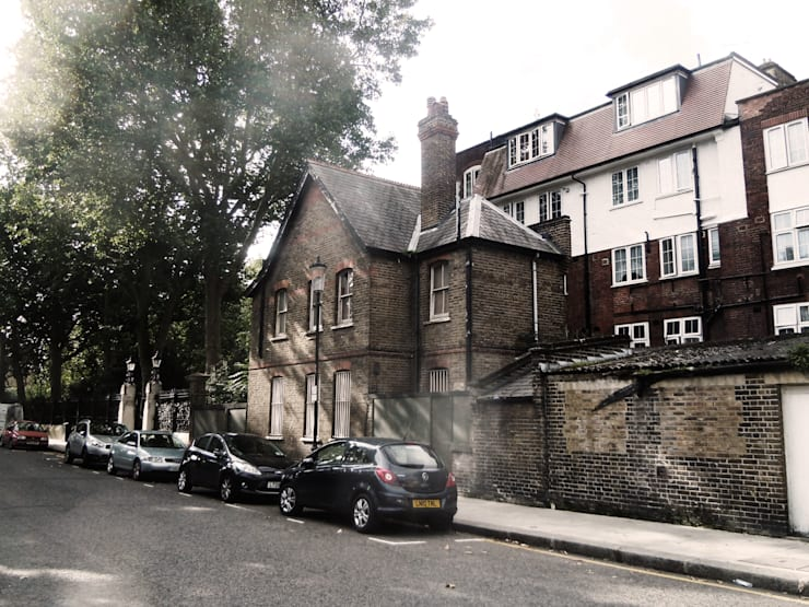 House Conversion, Kensington:  Houses by RS Architects