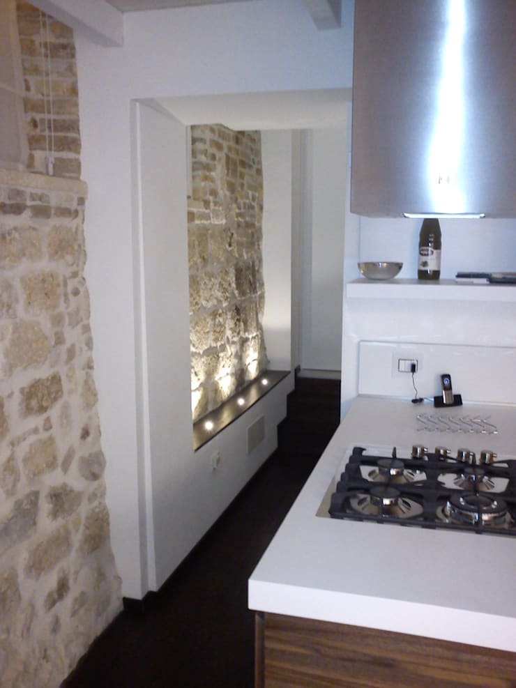 Kitchen by Studio DeGli Architetti  G. De Angelis - F. Glionna, Modern