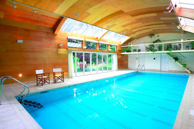 Kolam Renang oleh London Swimming Pool Company, Modern