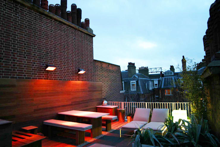 Sloane Square, London:  Terrace by Urban Roof Gardens