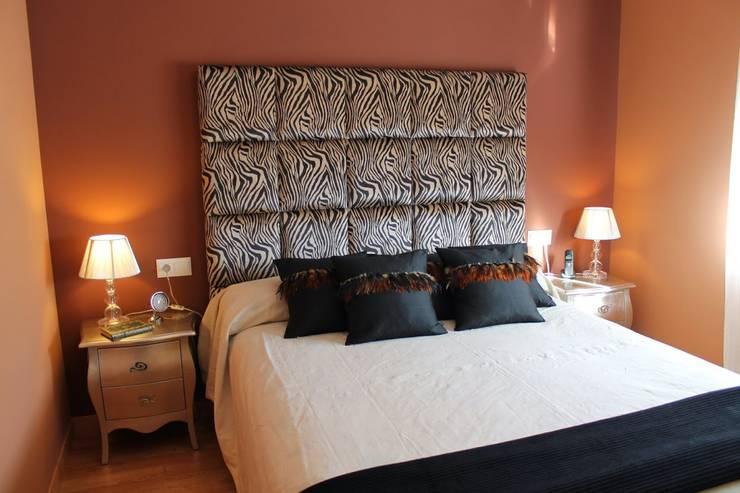 Decoración dormitorio: Dormitorios de estilo  de Ámbar Muebles