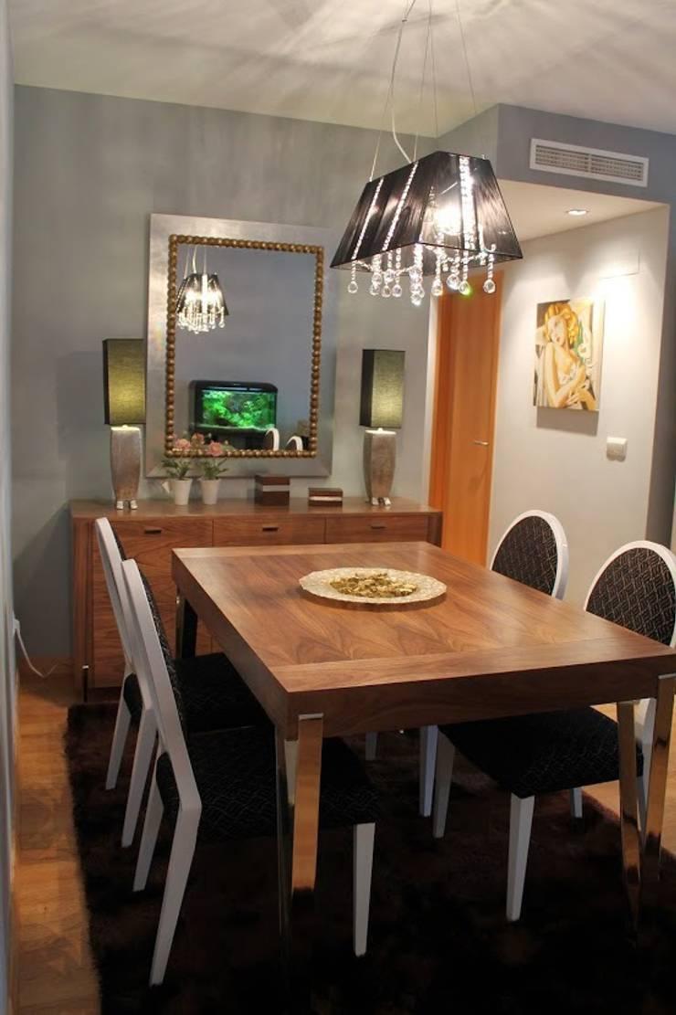 Foto decoración comedor: Comedores de estilo  de Ámbar Muebles