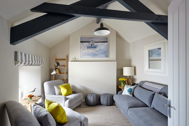 Porthleven: eclectic Living room by LEIVARS