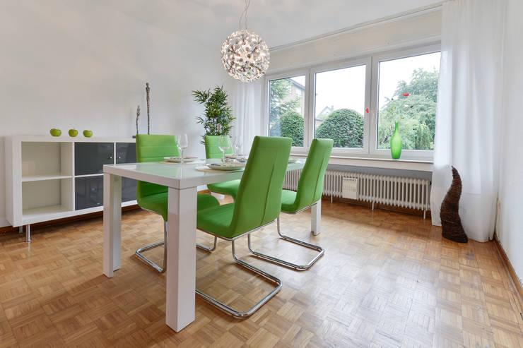 Phòng ăn by raumessenz homestaging