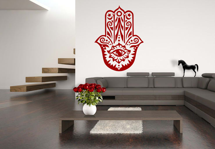 Pareti & Pavimenti in stile in stile Eclettico di K&L Wall Art