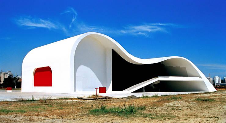 Teatro Popular de Niteroi.Oscar Niemeyer : Museos de estilo  de Marcela Grassi Photography