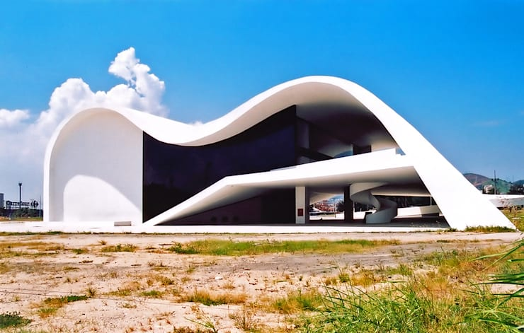 Teatro Popular de Niteroi.Oscar Niemeyer: Museos de estilo  de Marcela Grassi Photography
