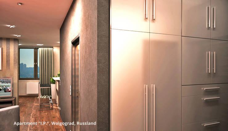 Kamar Tidur oleh GID│GOLDMANN-INTERIOR-DESIGN - Innenarchitekt in Sehnde, Modern