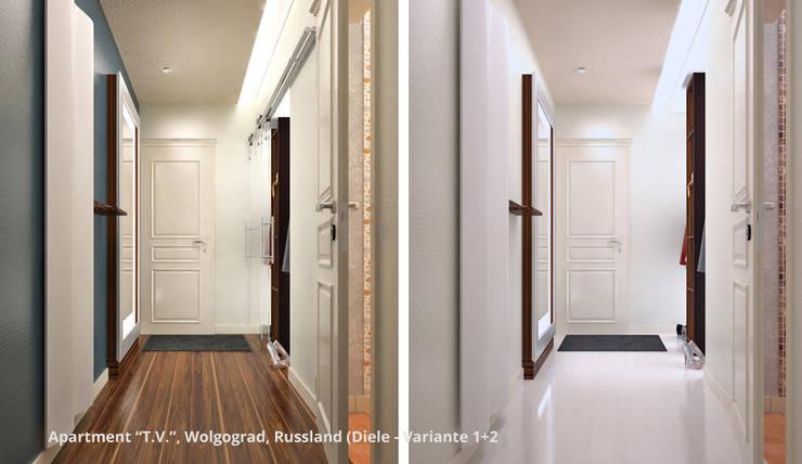 Koridor dan lorong oleh GID│GOLDMANN-INTERIOR-DESIGN - Innenarchitekt in Sehnde, Modern