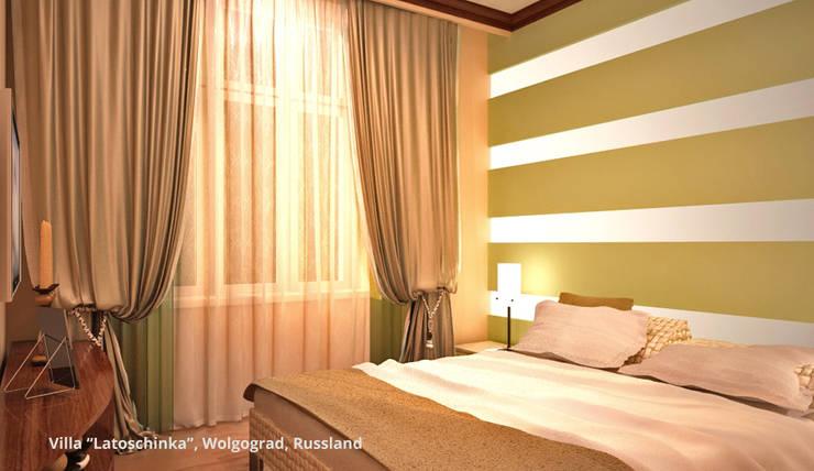 Classic style bedroom by GID│GOLDMANN-INTERIOR-DESIGN - Innenarchitekt in Sehnde Classic