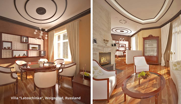 Classic style dining room by GID│GOLDMANN-INTERIOR-DESIGN - Innenarchitekt in Sehnde Classic
