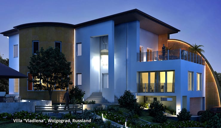 Rumah oleh GID│GOLDMANN-INTERIOR-DESIGN - Innenarchitekt in Sehnde, Modern
