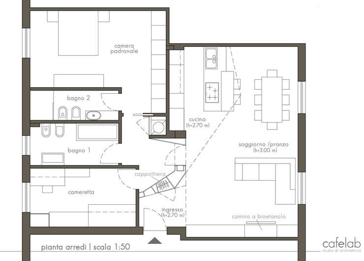 Modern Houses by CAFElab studio Modern