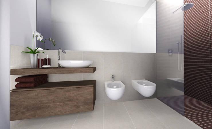 Modern Bathroom by CAFElab studio Modern