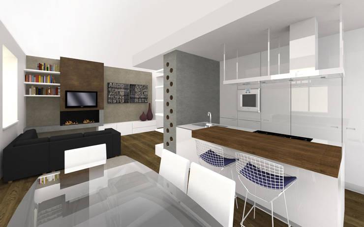 Modern Kitchen by CAFElab studio Modern