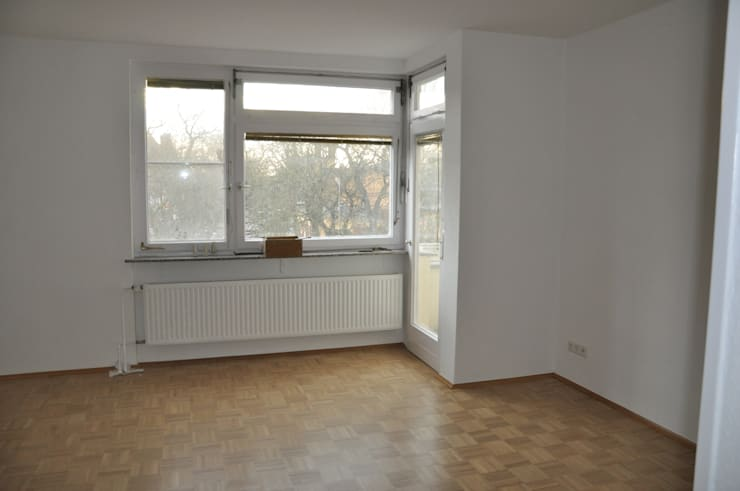 Leerer Essbereich:  Wohnzimmer von Optimmo Home Staging,Modern
