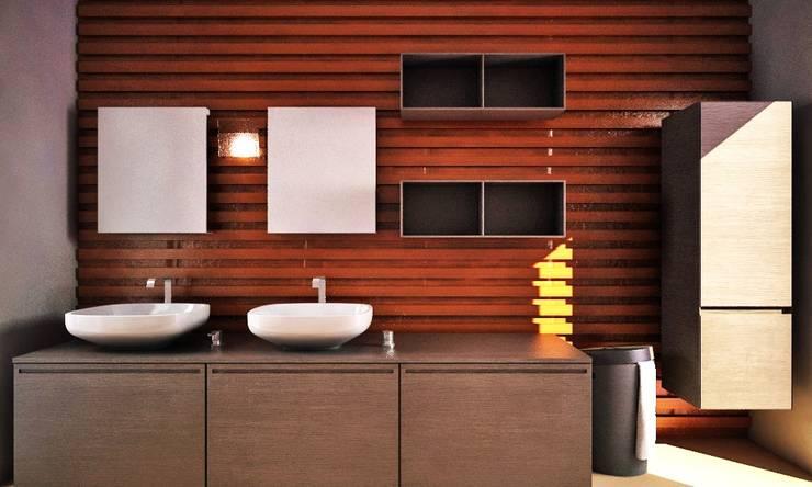 Remodelaciones: Baños de estilo  por Arquitectura Libre
