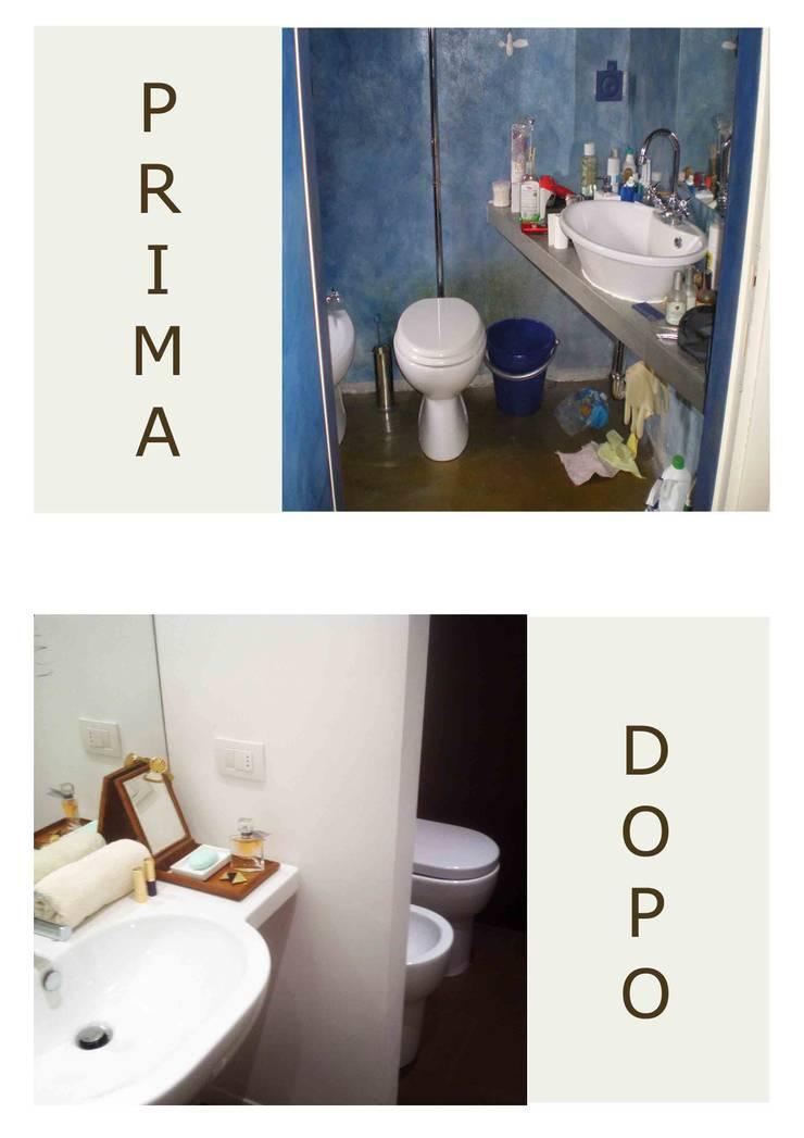 bagno: Case in stile  di marta novarini architetto