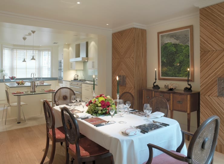 Belgravia: classic Dining room by Meltons