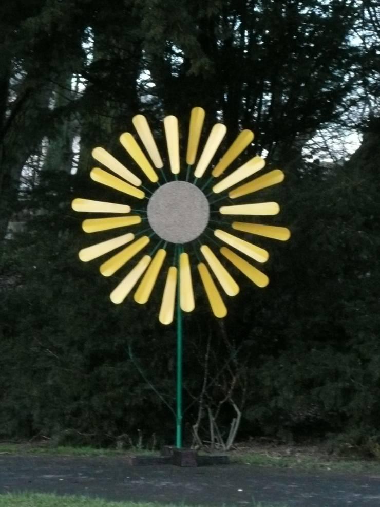 windmill:  Garden  by Fabbedfx