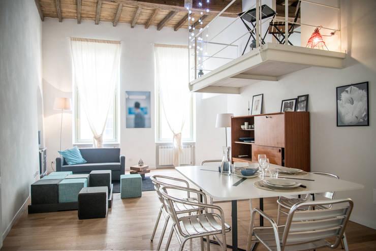 غرفة المعيشة تنفيذ con3studio
