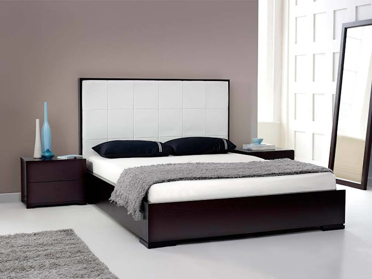 Living It Up: modern tarz Yatak Odası