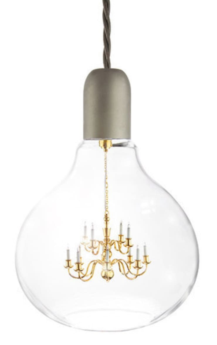 King Edison Pendant Lamp By Mineheart:  Bathroom by Anthea's Home Store