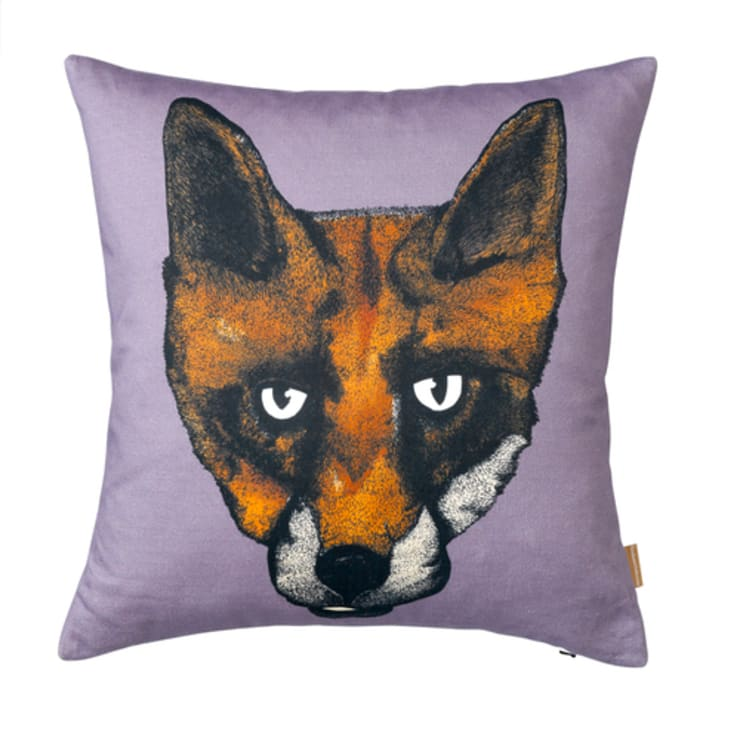Fox Cushion by Lisa Bliss:  Living room by Anthea's Home Store