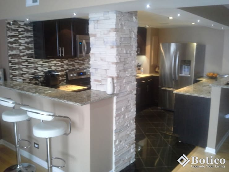 Doncaster Kitchen Remodeling Project, UK:  Kitchen by Botico