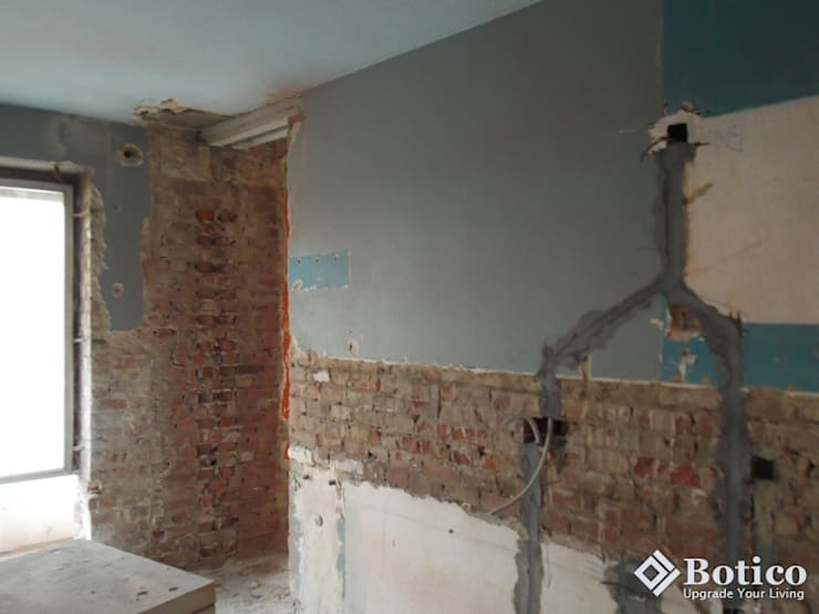 Sheffield Plastering Project:  Houses by Botico