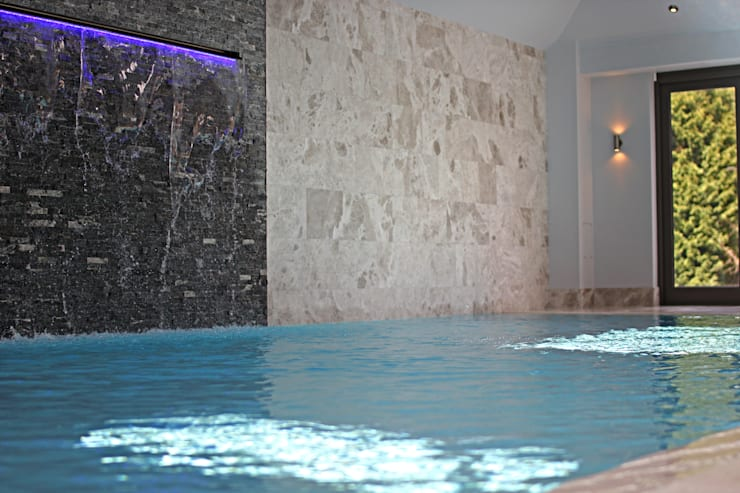 Luxury Mansion Cheshire:  Pool by Asco Lights