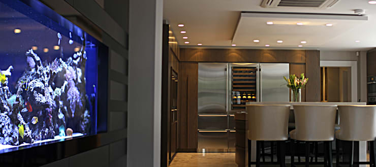 Luxury Mansion Cheshire:  Kitchen by Asco Lights